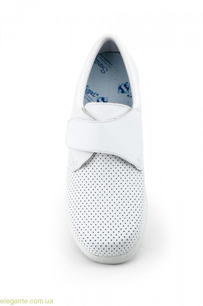Женские фармацевтические туфли FARMA белые 0