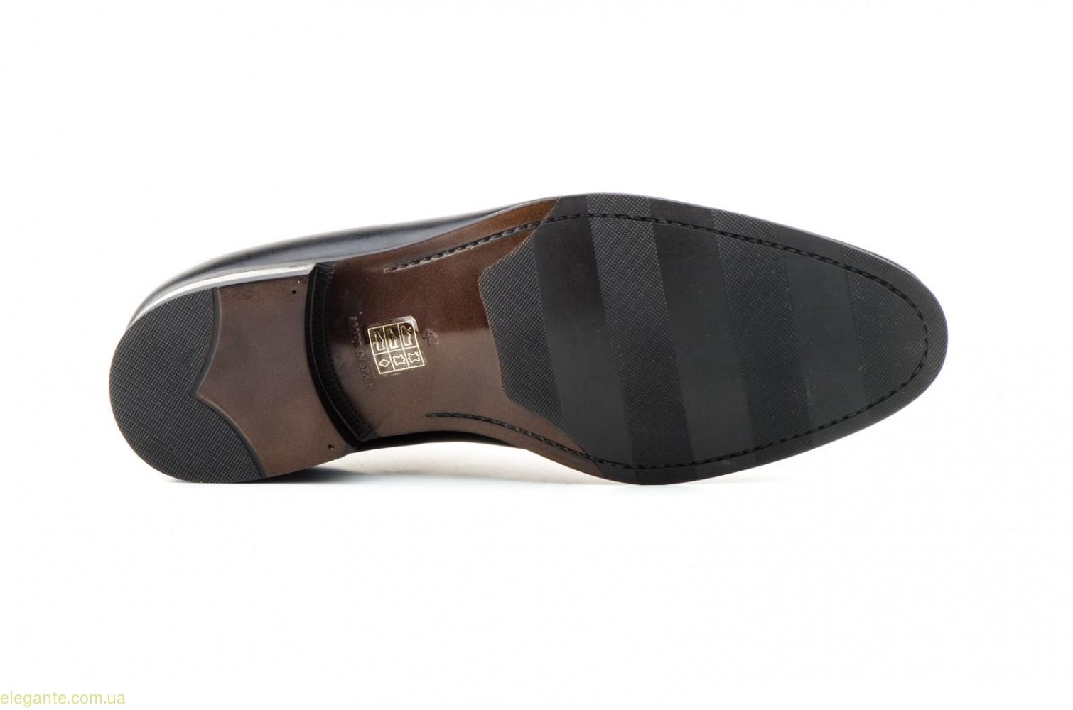 Чоловічі шкіряні туфлі Carlo Garelli чорні 0