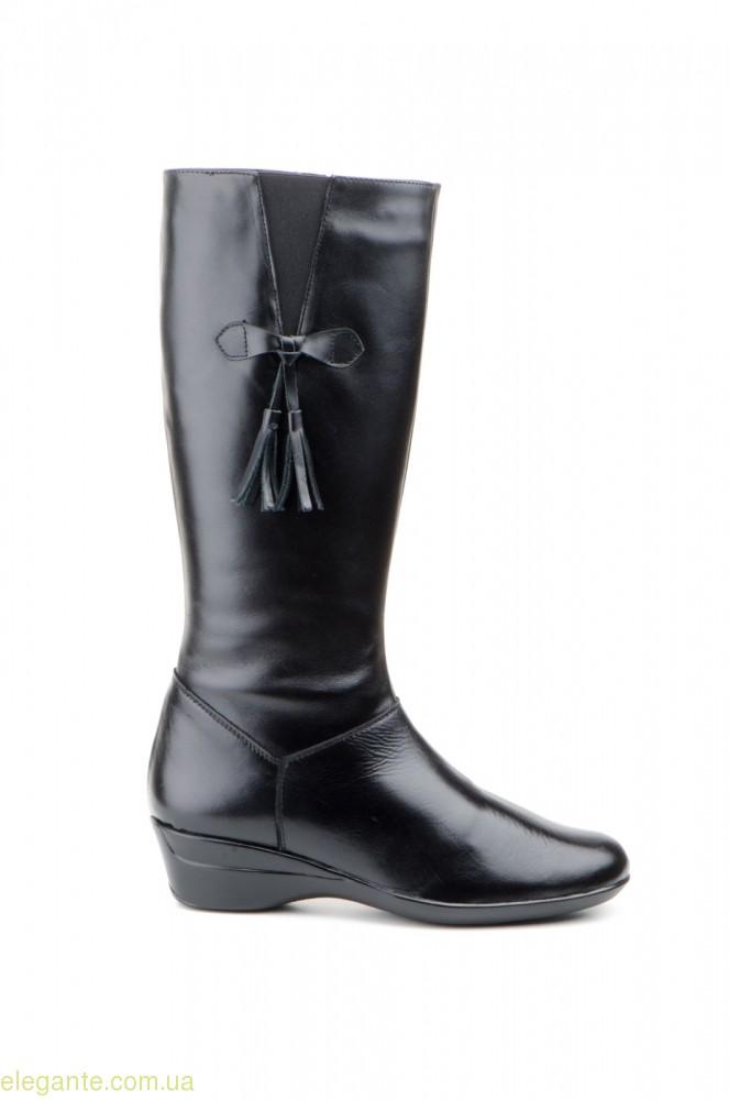 Женские сапоги JAM с кисточками чёрные 0