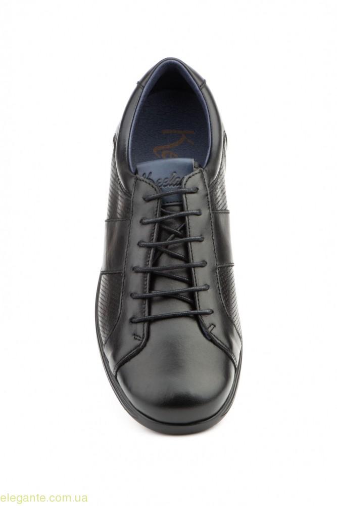 Чоловічі туфлі щоденні  KEELAN чорні 0