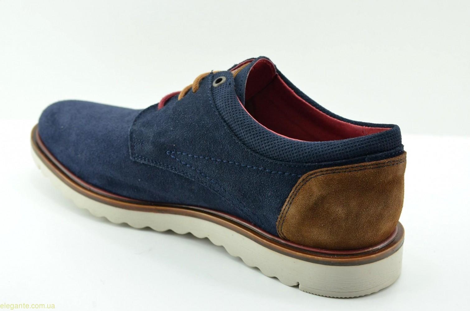 Чоловічі туфлі DJ SANTA1 сині 0