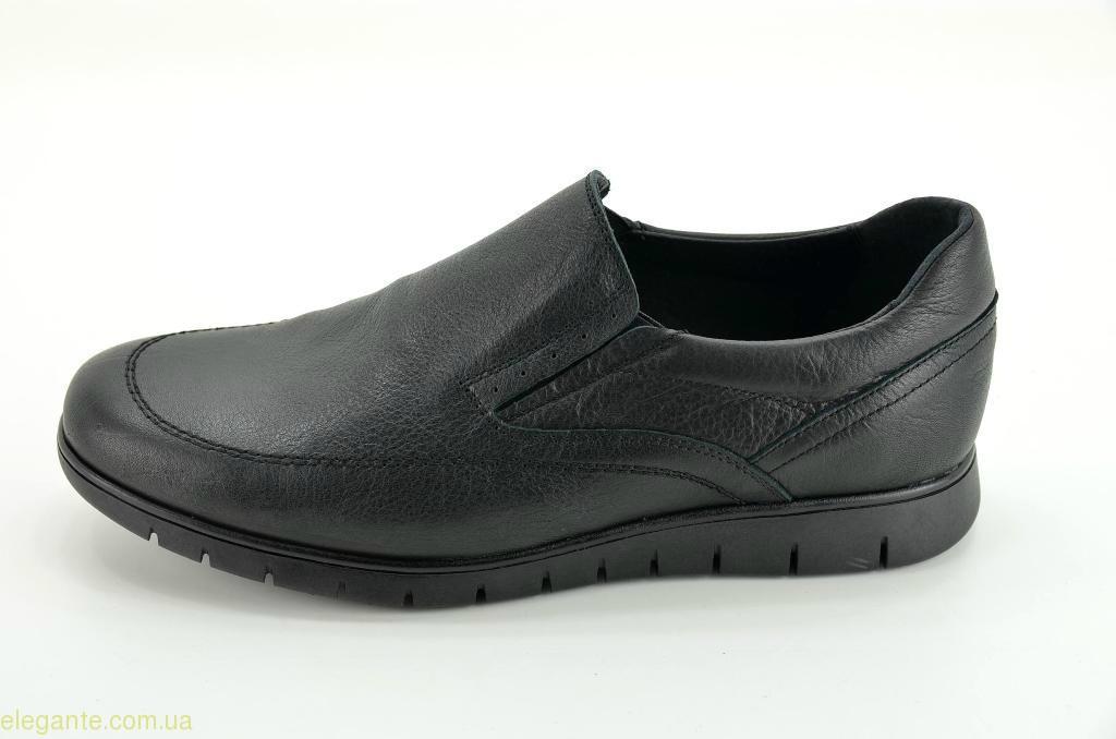 Мужские гибкие туфли  DJ SANTA1 чёрные 0