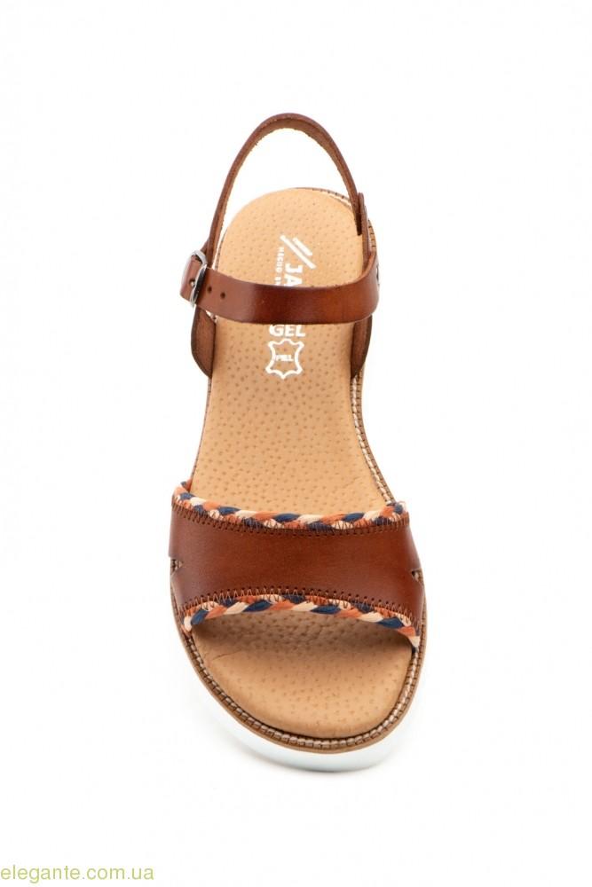Жіночі сандалії JAM Mistral коричневі 0