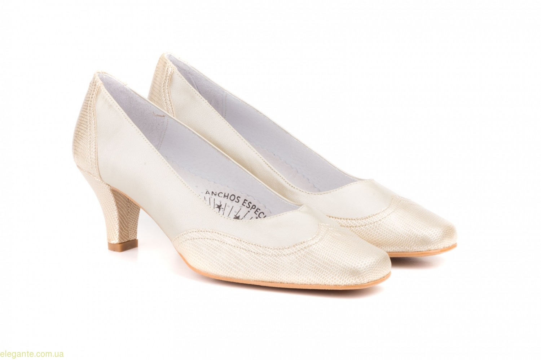 Женские туфли JAM1 золотистые 0