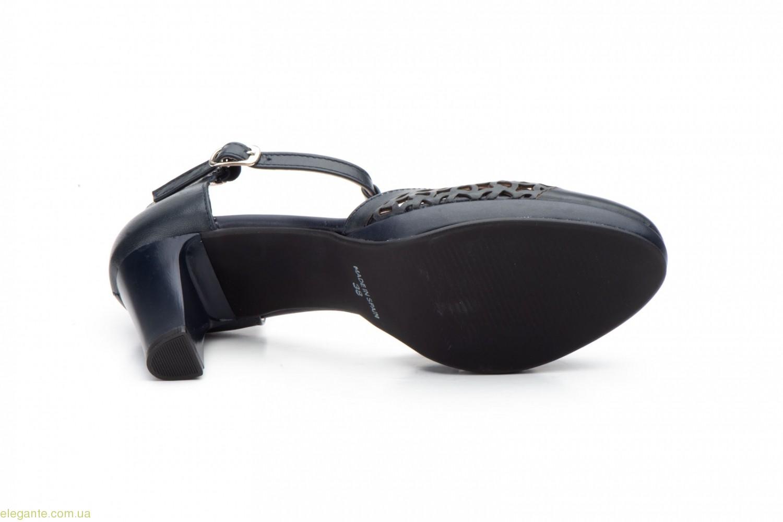 4cbe20d9723254 Жіночі туфлі на каблуку ANNORA1 сині〛— купити по ціні 1690 грн.➜ в ...