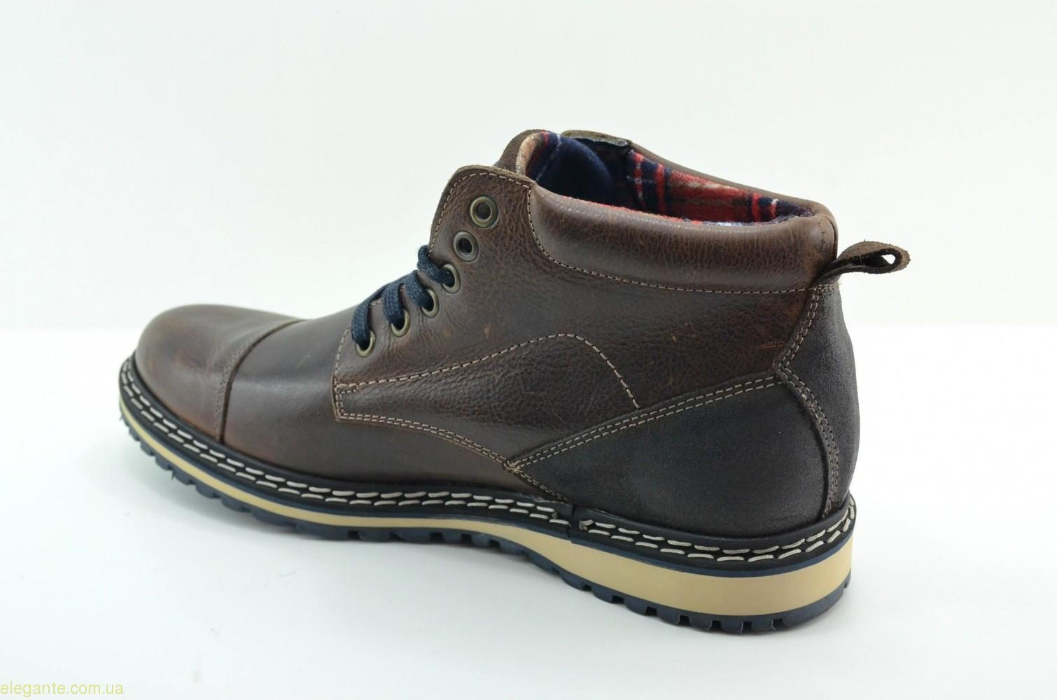 Чоловічі черевики DJ SANTA4 коричневі 0