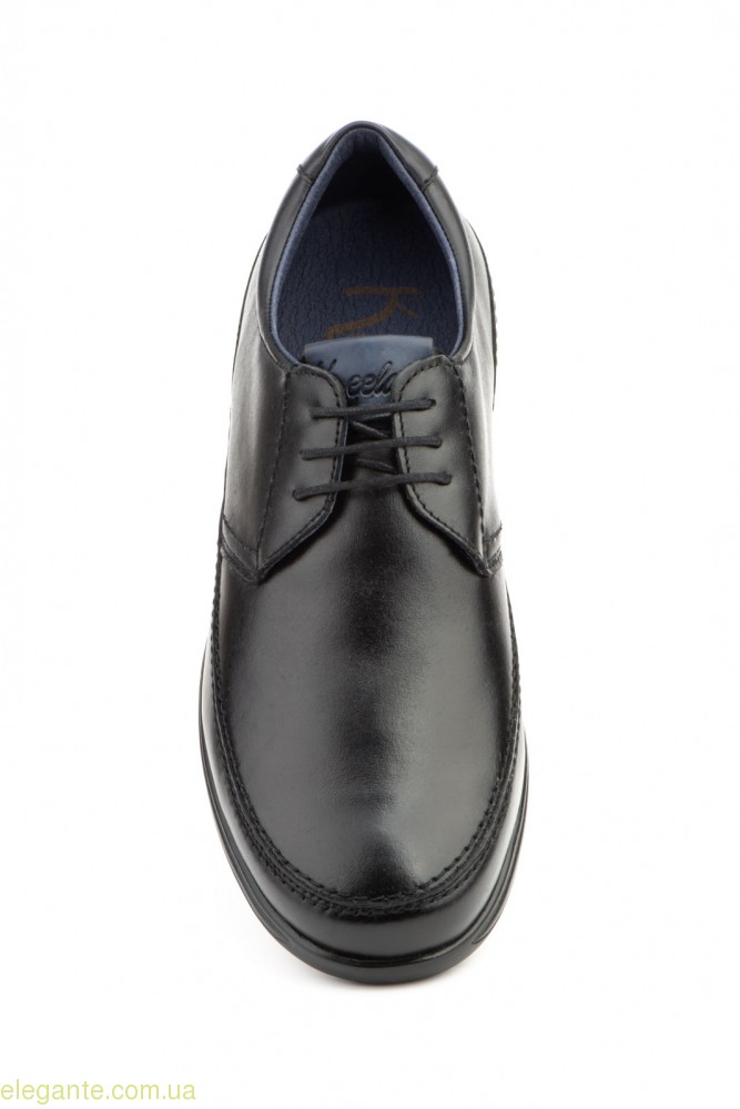 Чоловічі туфлі на шнурівках  KEELAN чорні 0