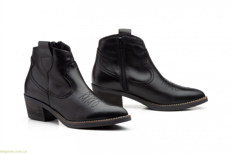 Женские ковбойские ботинки Par y Medio чёрные 0