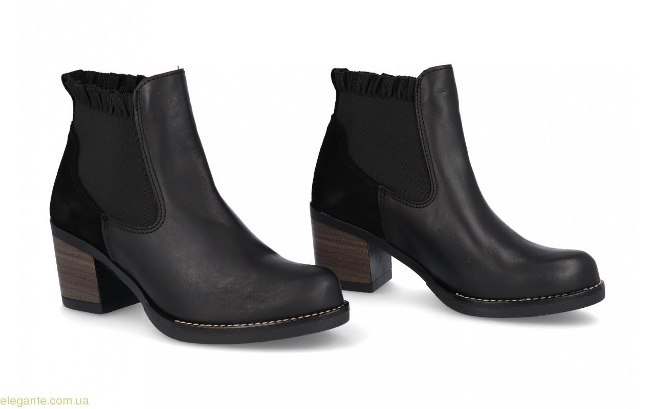 Жіночі черевики Innovation із еластичними вставками чорні 0