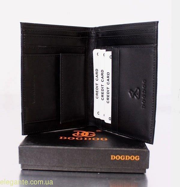 Мужской бумажник DOGDOG черный 0