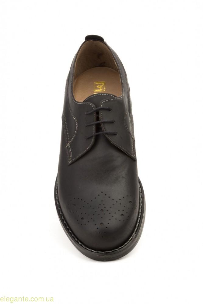 Мужские туфли SCN6 чёрные 0