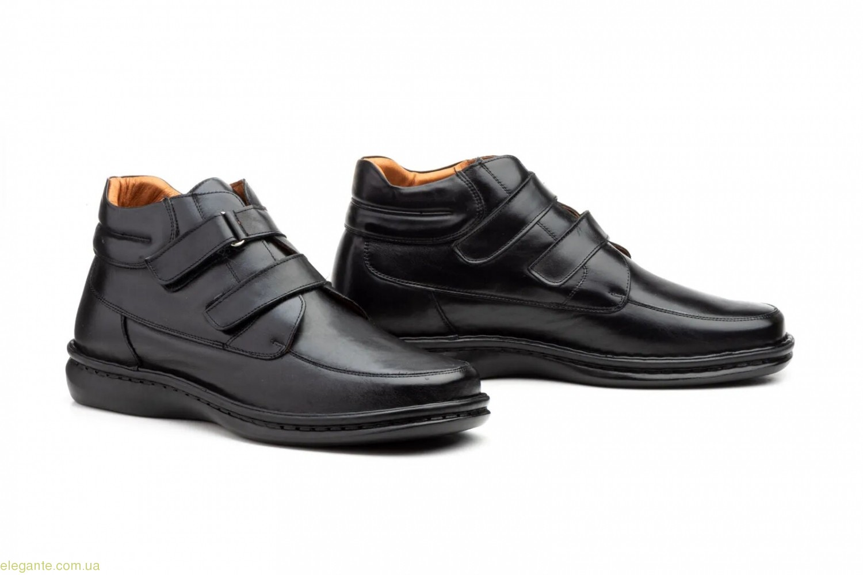 Мужские ботинки на липучке Cactus XXL чёрные 0