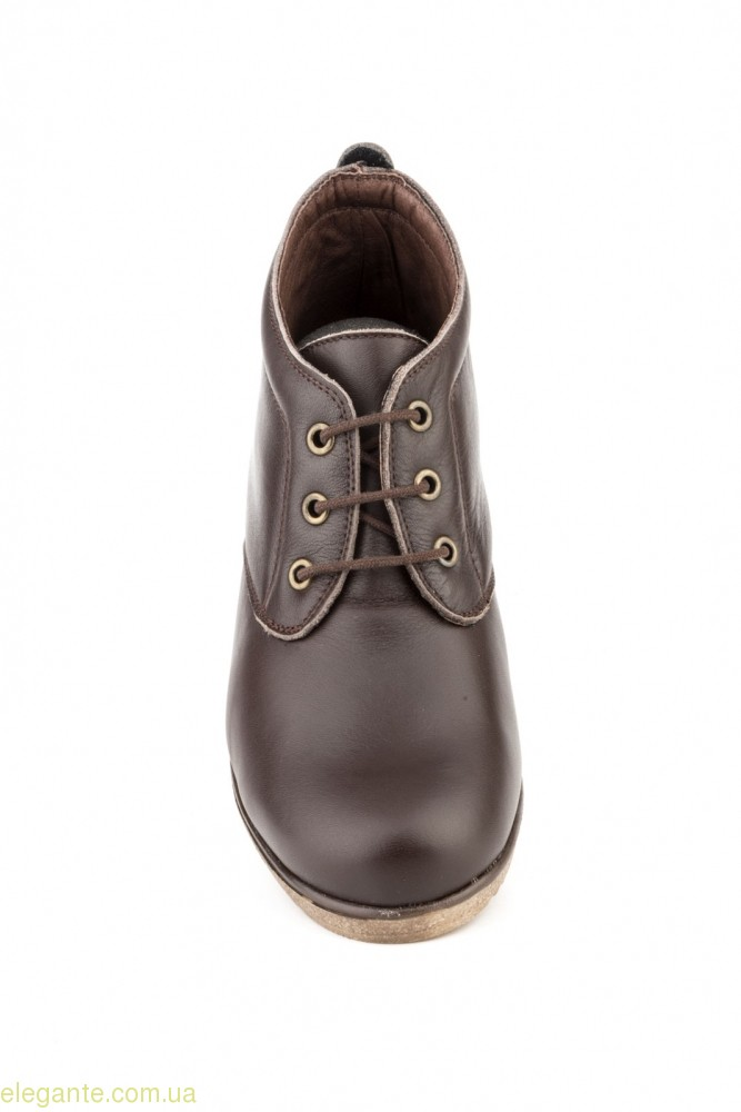 Женские ботинки  ALTO ESTILO коричневые 0