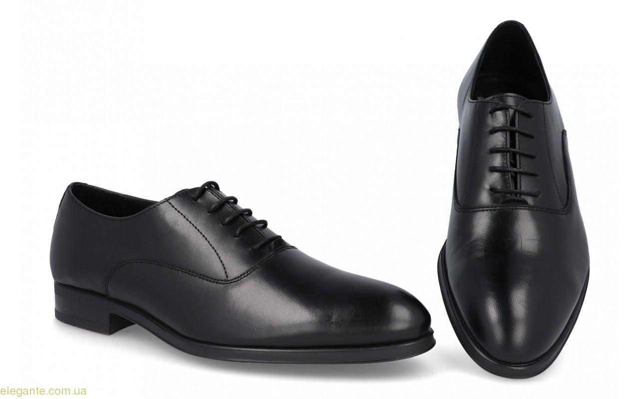 Мужские туфли оксфорды Becool1 чёрные 0