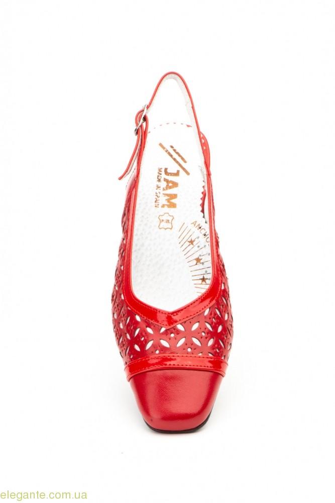 Жіночі туфлі JAM червоні 0