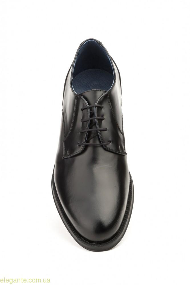 Чоловічі туфлі дербі SCN4 чорні 0