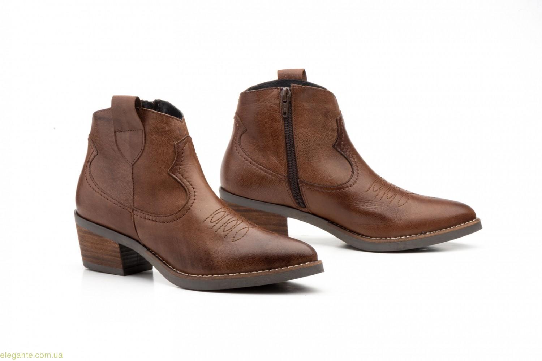Жіночі ковбойські черевики Par y Medio коричневі 0
