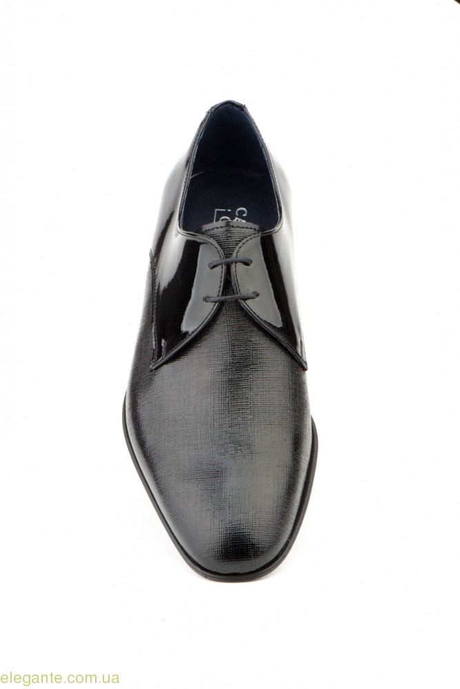 Чоловічі туфлі дербі CARLO GARELLI чорні 0