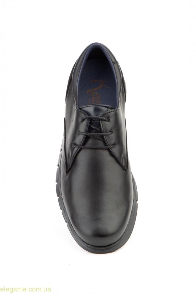 Чоловічі туфлі на шнурівках KEELAN2 чорні 0