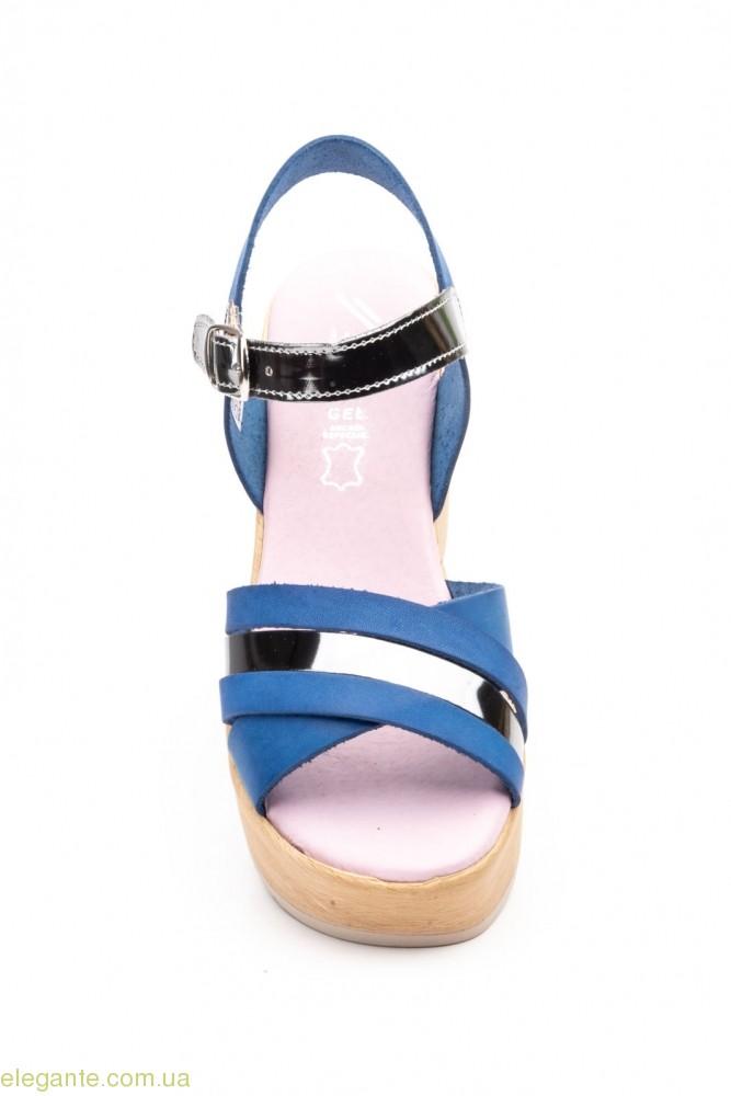 Жіночі босоніжки JAM Cutillas сині 0