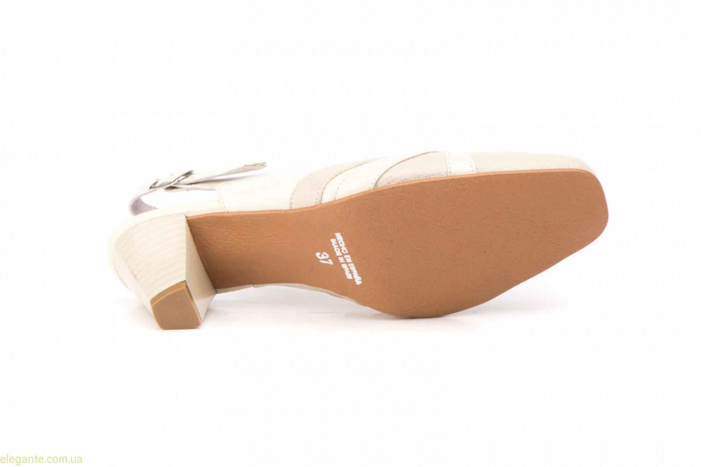 Женские туфли JAM3 телесные светлые 0