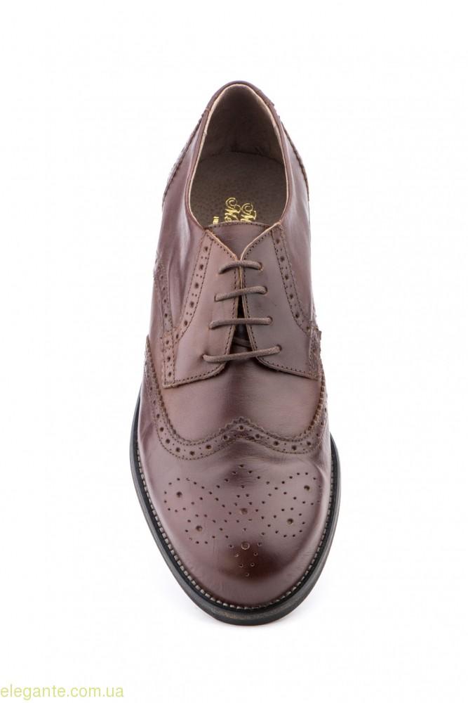 Чоловічі туфлі SCN коричневі 0