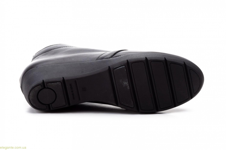 Жіночі черевички на танкетці Alto Estilo чорні 0