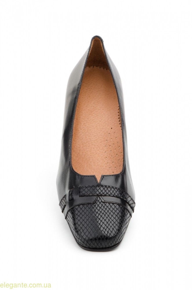 Женские туфли на каблуке JAM1 чёрные 0