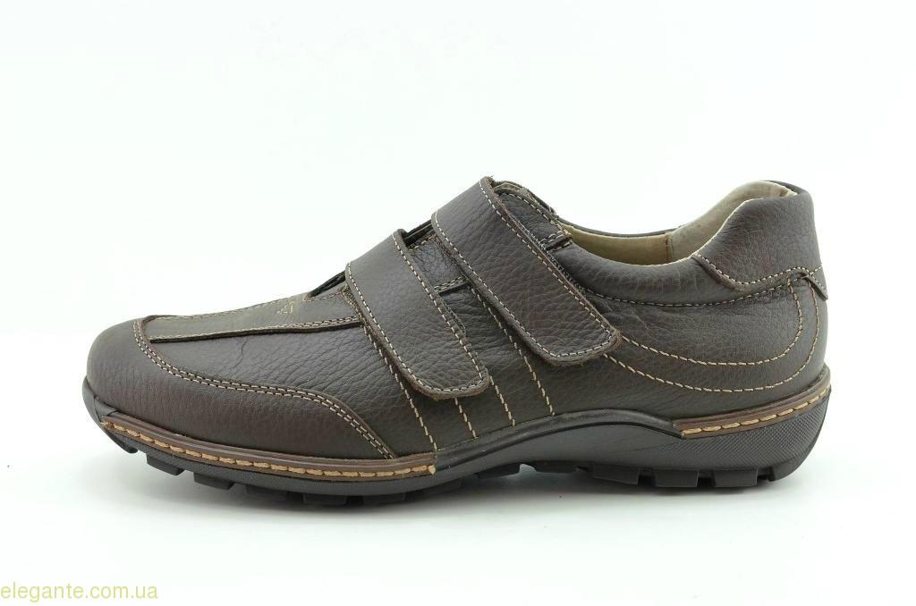 Чоловічі туфлі щоденні DJ SANTA3  коричневі 0