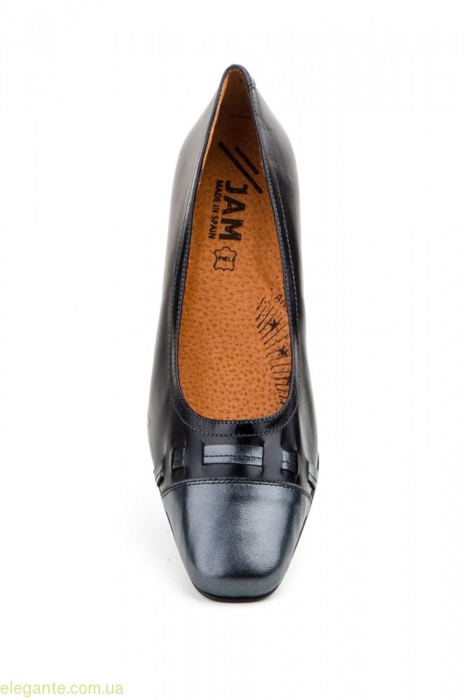 Жіночі туфлі на каблуку JAM2 чорні 0
