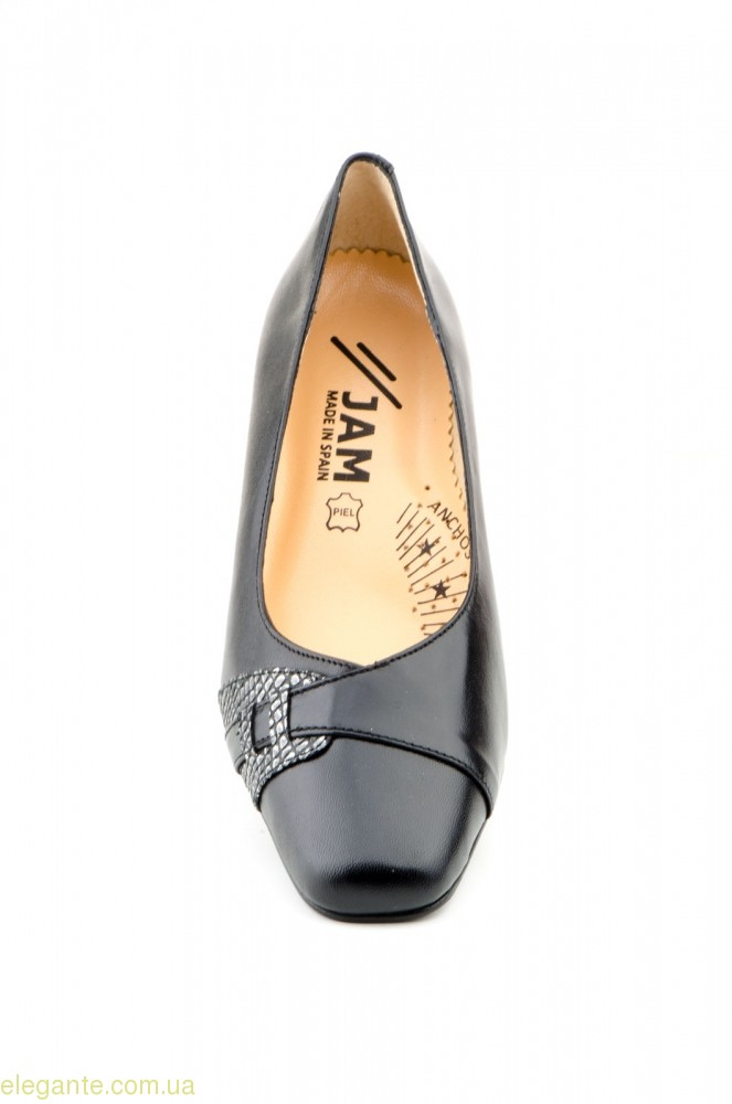 Женские туфли JAM4 чёрные 0