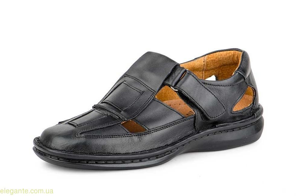 Мужские сандали CACTUS1 чёрные 0