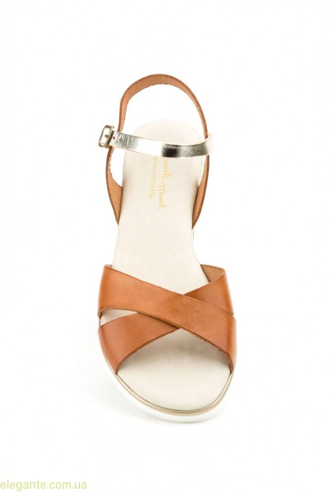 Женские сандалии JAM коричневые 0