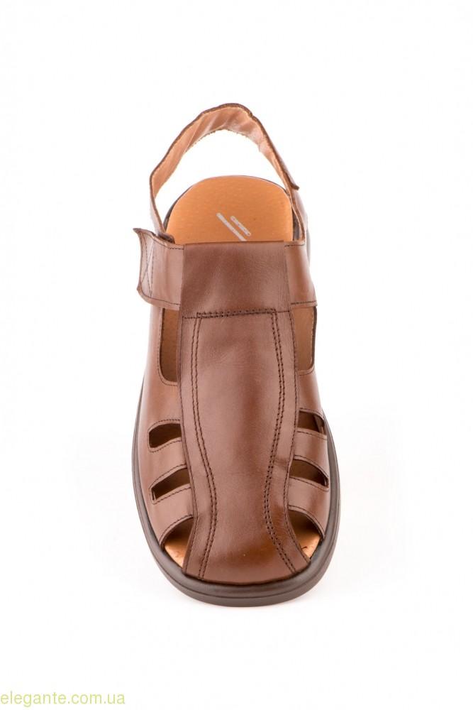 Мужские сандали  JAM коричневые 0