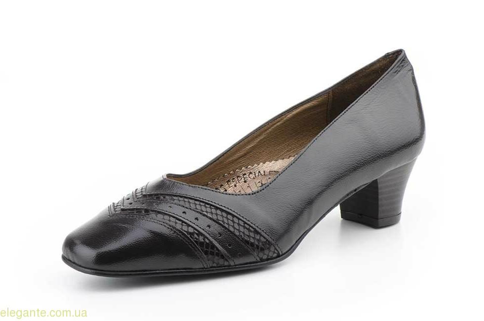 Женские туфли на каблуке JAM5 коричневые 0