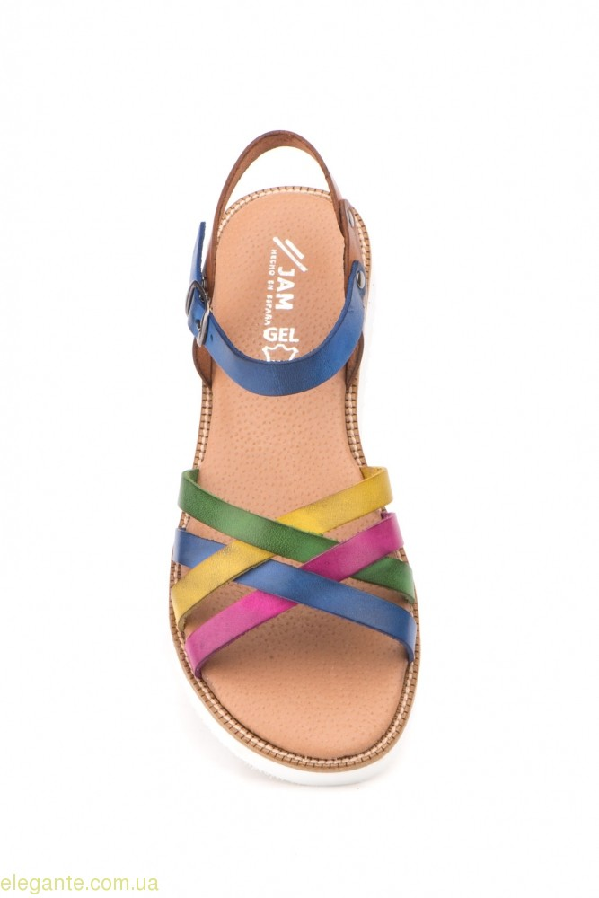 Женские сандалии MISTRAL многокрасочные 0