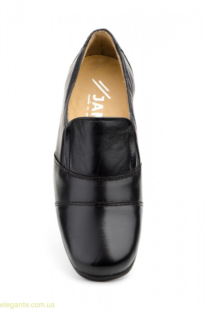 Женские туфли еластические JAM чёрные 0