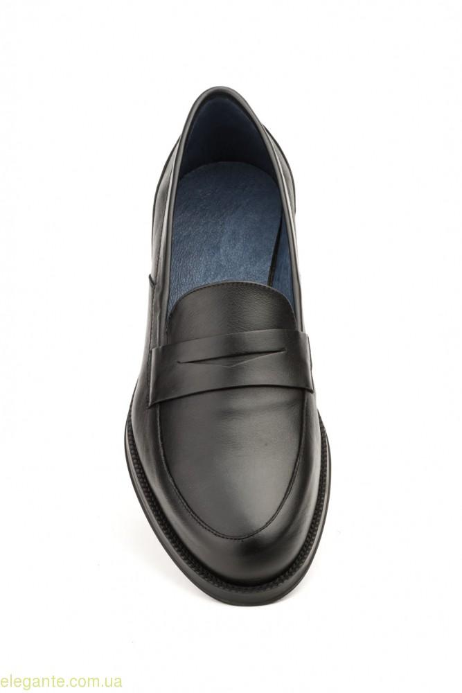 Чоловічі туфлі SCN4 чорні 0