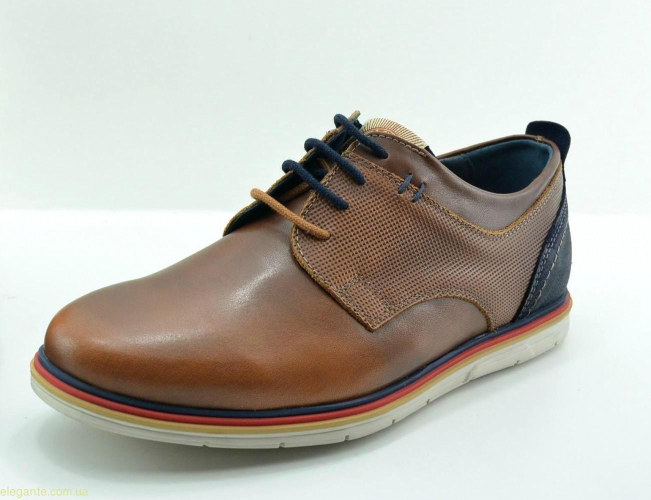 Чоловічі туфлі DJ SANTA3 коричневі 0