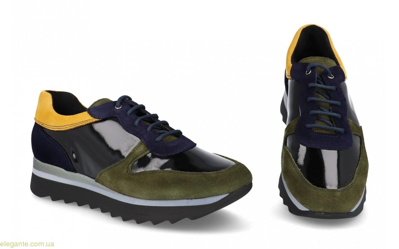 Жіночі кросівки MARLENE PRIETO колір хакі 0