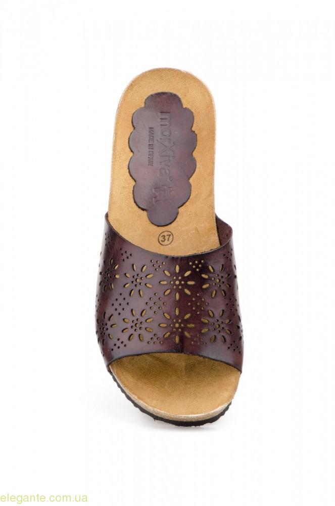 Жіночі шльопанці MORXIVA1 коричневі 0