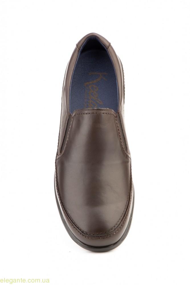 Чоловічі туфлі KEELAN1 коричневі 0