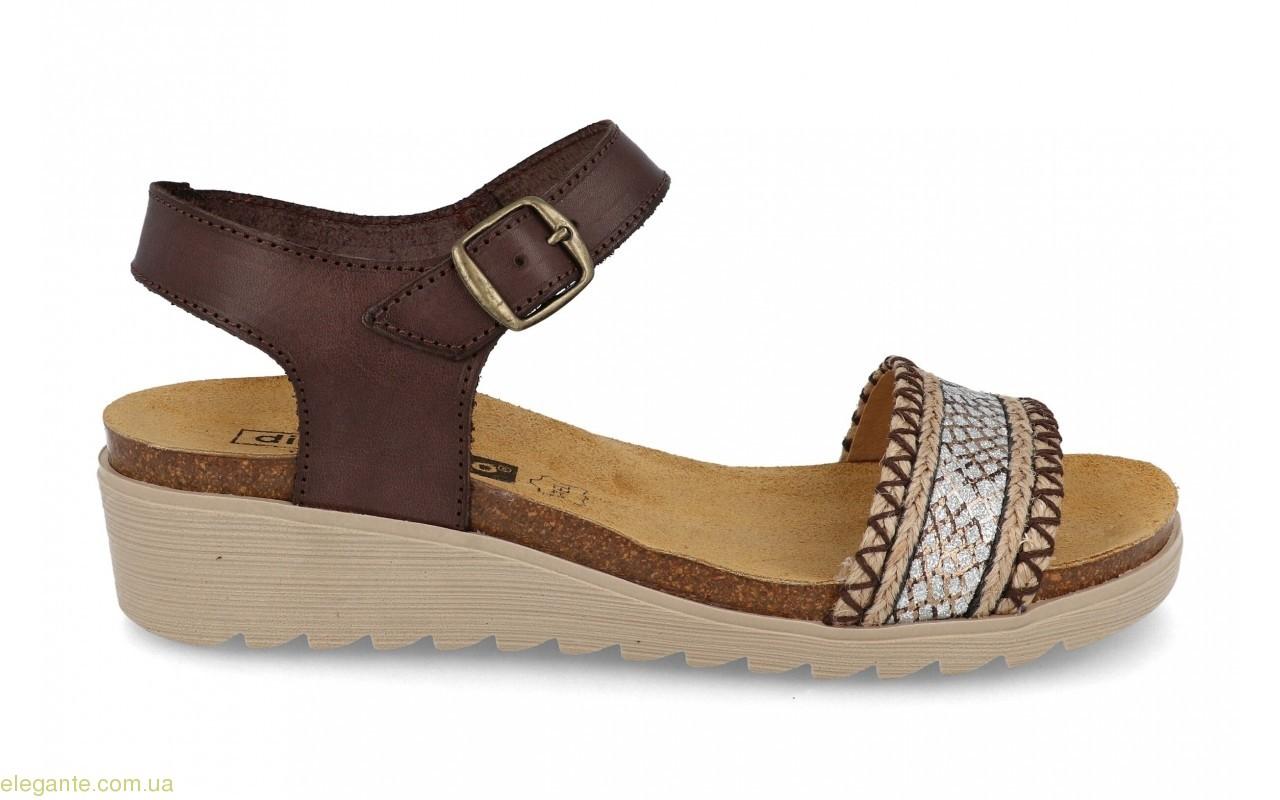 Женские сандалии Digo коричневие 0