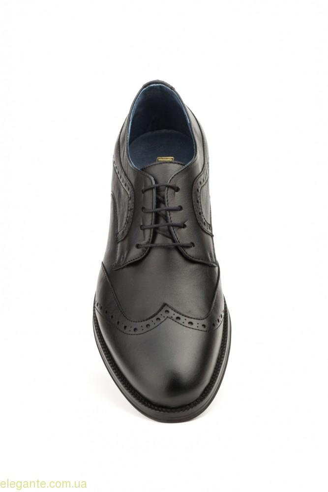 Мужские туфли дерби SCN1 чёрные 0