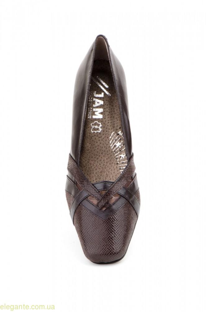 Жіночі туфлі JAM2 коричневі 0