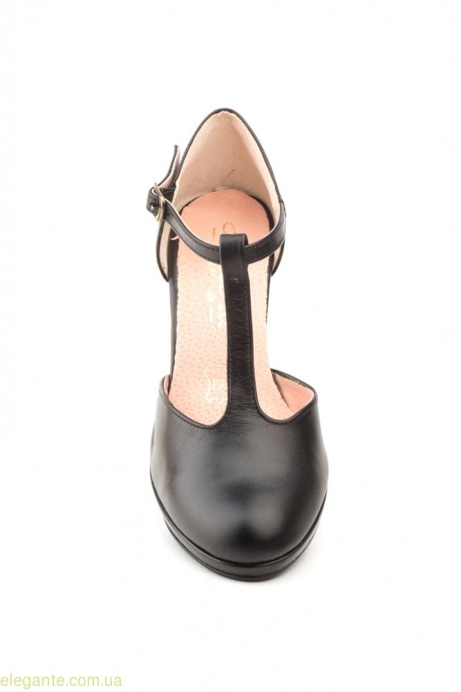 Женские туфли на каблуке ANNORA чёрные 0