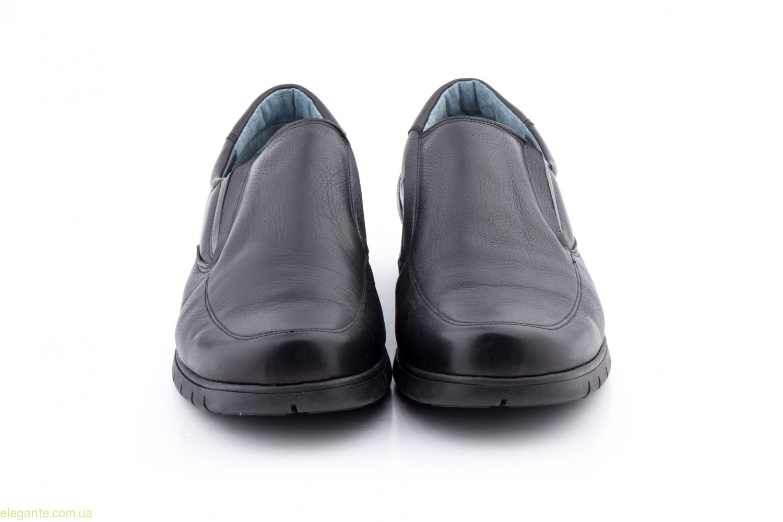 Мужские удобные туфли D'chus чёрные 0