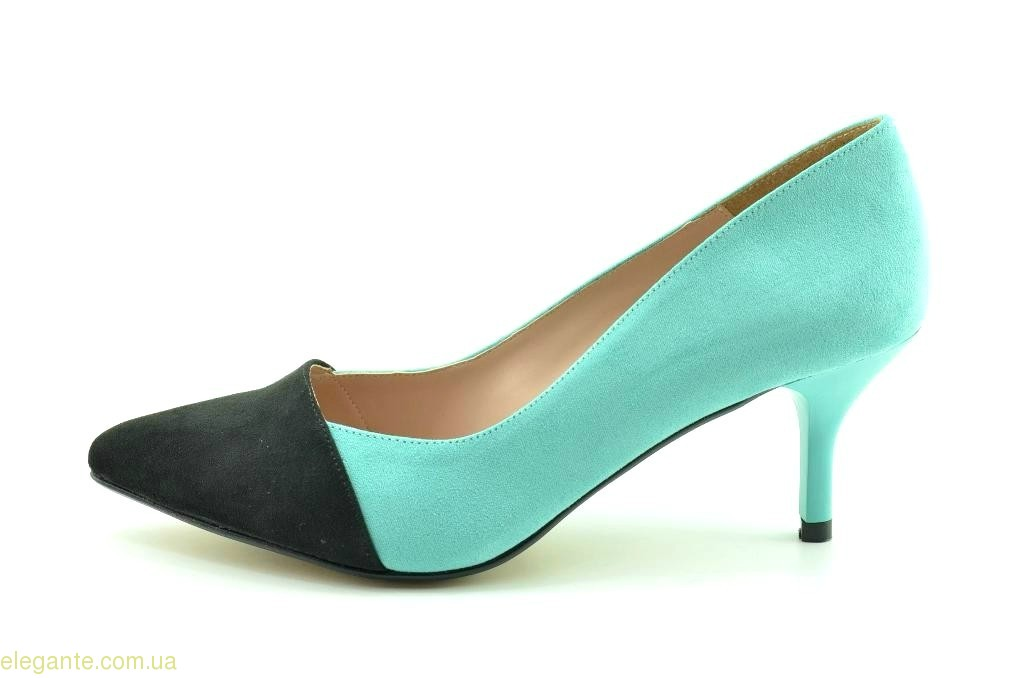 Жіночі туфлі на каблуку DIGO DIGO сині 0