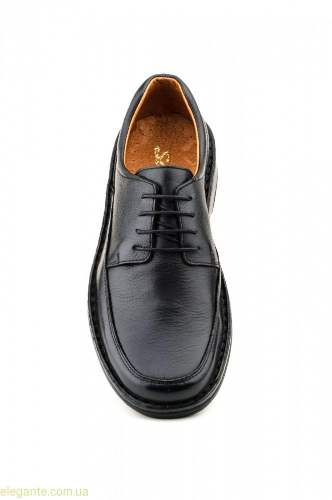 Чоловічі туфлі  SCN CRISPINOS чорні 0