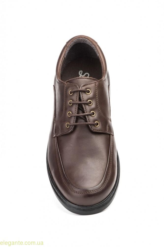 Чоловічі туфлі SCN2 коричневі 0